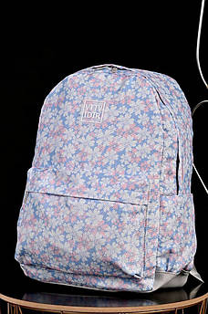 Рюкзак дитячий блакитний з ромашками АDS 135939M