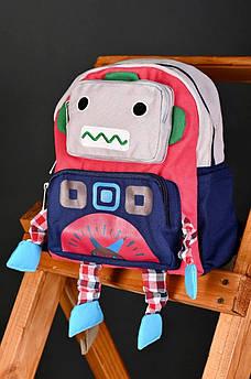 Рюкзак дитячий сіро-синій АDS 135708M