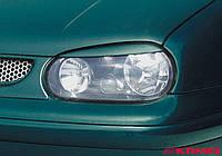 Реснички Volkswagen Golf 4, накладки на фары Гольф 4