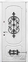 Дверь на улицу с кованным элементом ТМ Абвер модель Ilanta код: 46