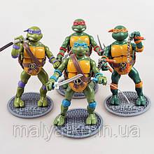 """Набор классических фигурок """"Черепашки Ниндзя"""", 4в1, 15 см - Ninja Turtles, TMNT 1988"""