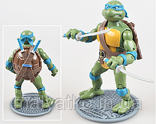 "Классическая фигурка Леонардо ""Черепашки Ниндзя"" - Leonardo, TMNT 1988, Ninja Turtles, 15СМ"