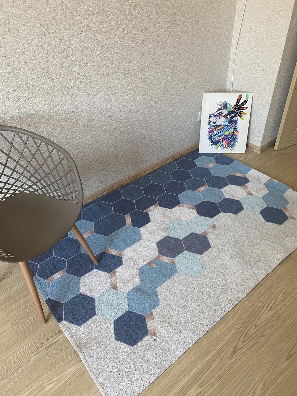 Большой коврик в коридор (120*120 см)