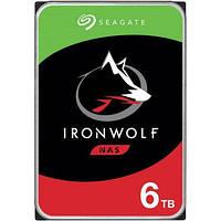 Внутренний жесткий диск Seagate IronWolf 6 TB (ST6000VN001) для компьютера I накопитель I НЖМД I HDD I HMDD