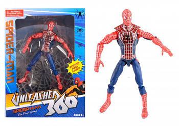 Фигурка игрушка супер герой Человек паук с паутиной вдали от дома Spider Man Far from Home