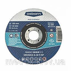 Круг отрезной по металлу Dronco 125х1.6х22.2 мм.