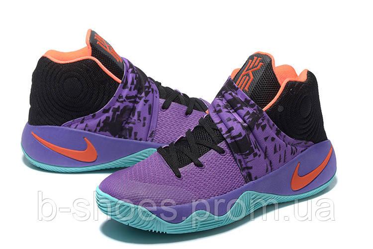 Мужские Баскетбольные кроссовки Nike Kyrie 2 (Purple/Blue/Black)