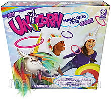 Игра поймай кольцо единорог  Games Magic unicorn ring Spin Master