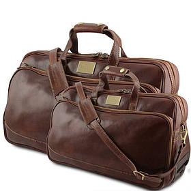Кожаный набор сумок Tuscany Leather Bora Bora TL3072
