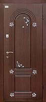 Дверь уличная с декором ТМ Абвер модель Lirika код: 47