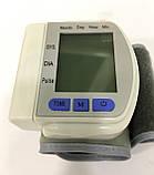Тонометр на зап'ястя автоматичний для вимірювання тиску CK-102s, фото 2