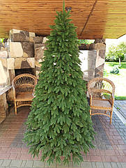 Ялинка штучна лита Швейцарська зелена 2,5 м, новорічна ялинка