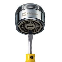 Аэратор для экономии воды c функцией регулирования потока (2 - 8 л/мин) Hihippo HP-1055
