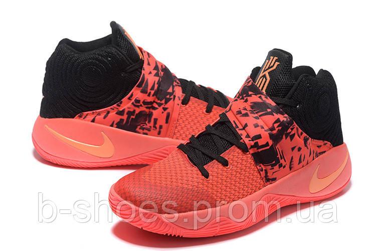 Мужские Баскетбольные кроссовки Nike Kyrie 2 (Orange/Black)