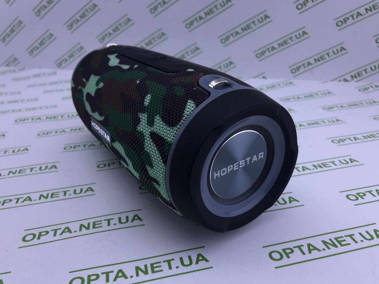 Портативна Колонка Bluetooth з динамічною підсвічуванням Hopestar H45 Камуфляж