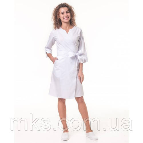 Медичний халат жіночий Верона Білий