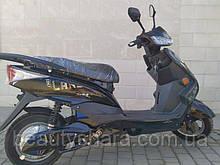 Электрический скутер 3000w - 28 ah, запас хода до 100 км, Чёрный 005-2