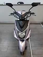 Электрический скутер 3000w - 28 ah, запас хода до 100 км, сереневый 005-3