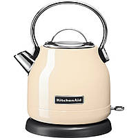 Чайник електричний KitchenAid об'єм 1,25 л Кремовий, Бежевий