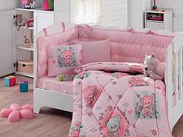 Постельное белье в кроватку Cotton box (4 предмета)