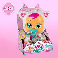 Кукла Cry Babies - Дейзи - белый пушистый котенок  Daisy  091658, фото 1