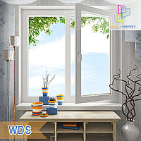 Двухчастное окно WDS Millenium, WDS 400, WDS 4 Series, WDS 500, WDS 7 Series
