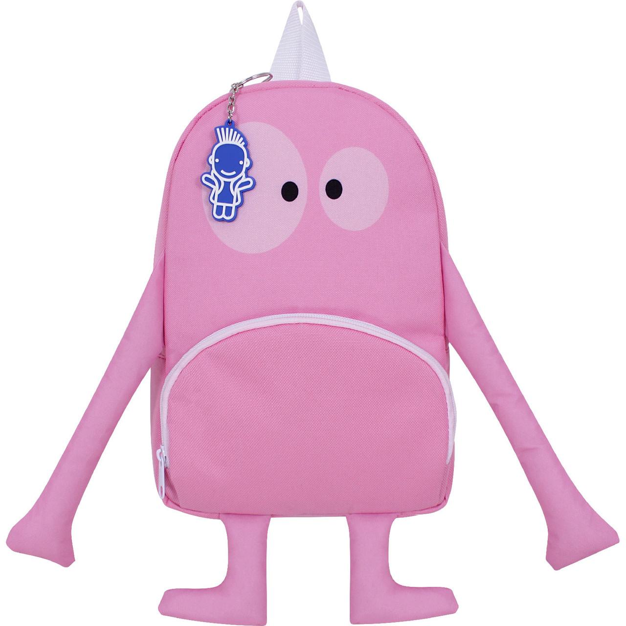 Рюкзак детский Bagland Monster 5 л. розовый 912 (0056366)