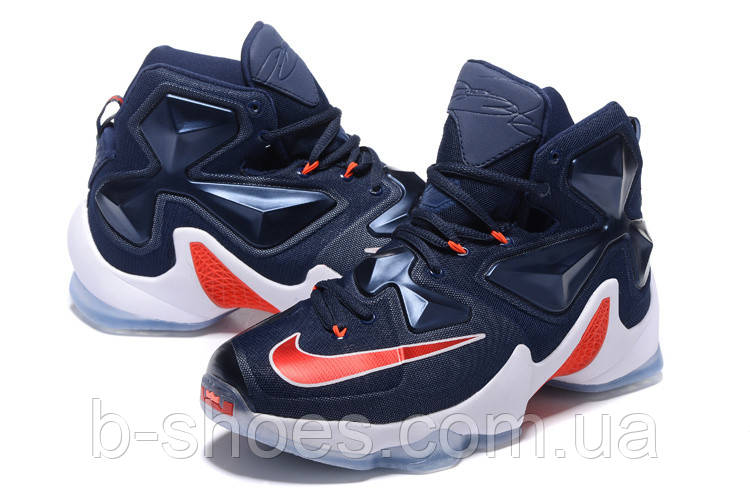 2a4c965a286 Мужские баскетбольные кроссовки Nike Lebron 13 (Jeans) - B-SHOES в Киеве