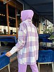 Женский костюм, трехнить,кашемир, р-р S, M, L (фиолетовый), фото 3