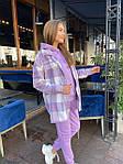Женский костюм, трехнить,кашемир, р-р S, M, L (фиолетовый), фото 4