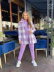 Женский костюм, трехнить,кашемир, р-р S, M, L (фиолетовый), фото 7