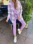 Женский костюм, трехнить,кашемир, р-р S, M, L (фиолетовый), фото 8