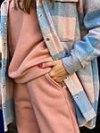 Жіночий костюм, трехнить,кашемір, р-р S, M, L (рожевий), фото 2