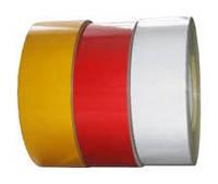 Лента светоотражающая красная (рулон)