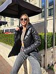 Жіноча куртка, плащівка, р-р S, M, L (чорний), фото 2
