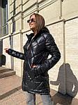 Жіноча куртка, плащівка, р-р S, M, L (чорний), фото 4