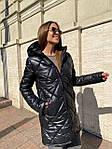 Жіноча куртка, плащівка, р-р S, M, L (чорний), фото 5