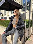 Жіноча куртка, плащівка, р-р S, M, L (чорний), фото 10