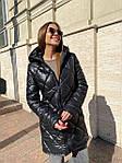 Жіноча куртка, плащівка, р-р S, M, L (чорний), фото 7