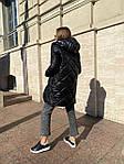Жіноча куртка, плащівка, р-р S, M, L (чорний), фото 8