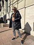 Жіноча куртка, плащівка, р-р S, M, L (чорний), фото 9