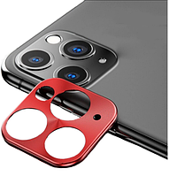 РАМКА НА КАМЕРУ iPhone 11 PRO/iPhone 11 PRO MAX (RED)