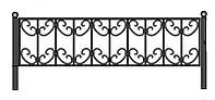 Забор для клумбы