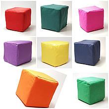 М'які Кубики дитячі розмір 15х15х15см різнокольорові 6 шт