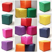М'які Кубики дитячі розмір 15х15х15см різнокольорові 24 шт