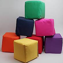 М'які Кубики дитячі розмір 15х15х15см різнокольорові 12 шт