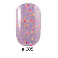 Гель-лак для ногтей Naomi Candy Bar Collection №205