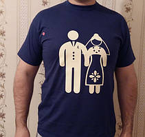футболки с приколами, порезка пленки, термоперенос