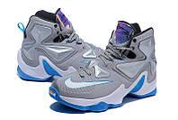 Мужские баскетбольные кроссовки Nike Lebron 13 (Grey), фото 1