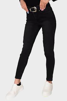 Джинси жіночі чорні Zero Basic 131482T
